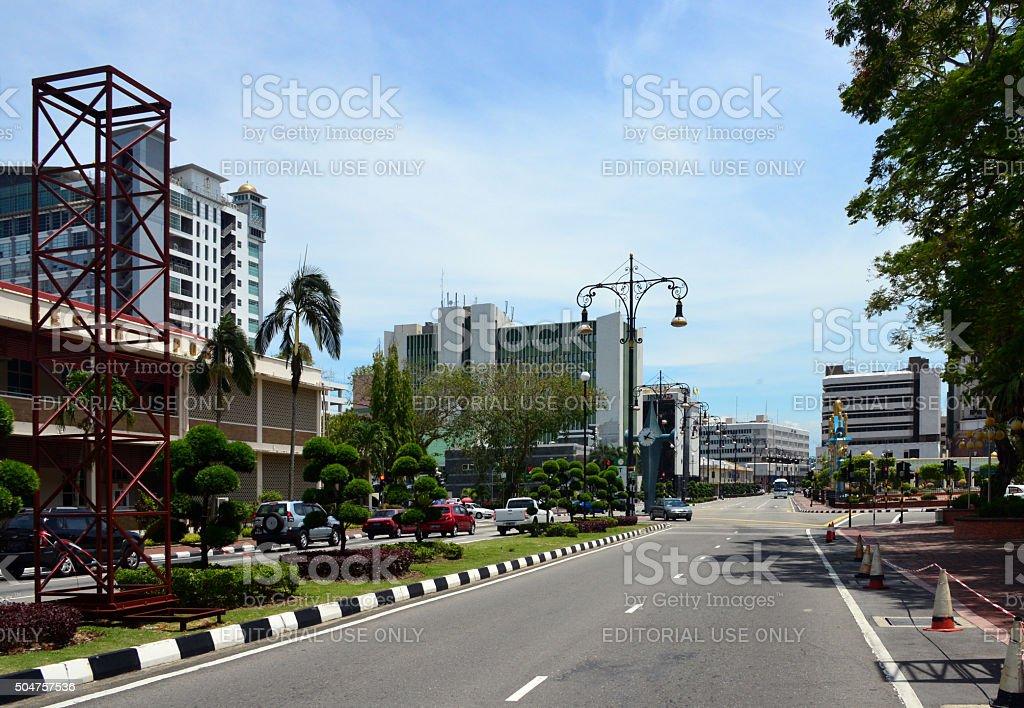 bandar seri begawan brunei central business district stock. Black Bedroom Furniture Sets. Home Design Ideas
