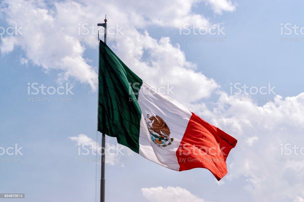 Bandeira mexicana - foto de stock