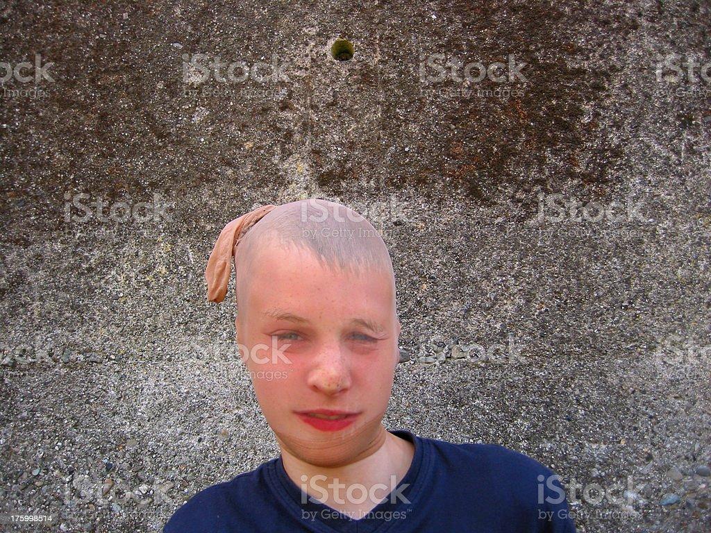 Bandit Boy royalty-free stock photo