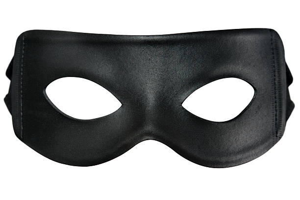 bandit mask - mask disguise stock photos and pictures