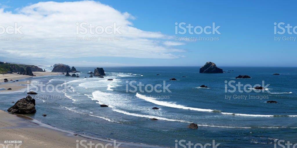 Bandon beach stock photo