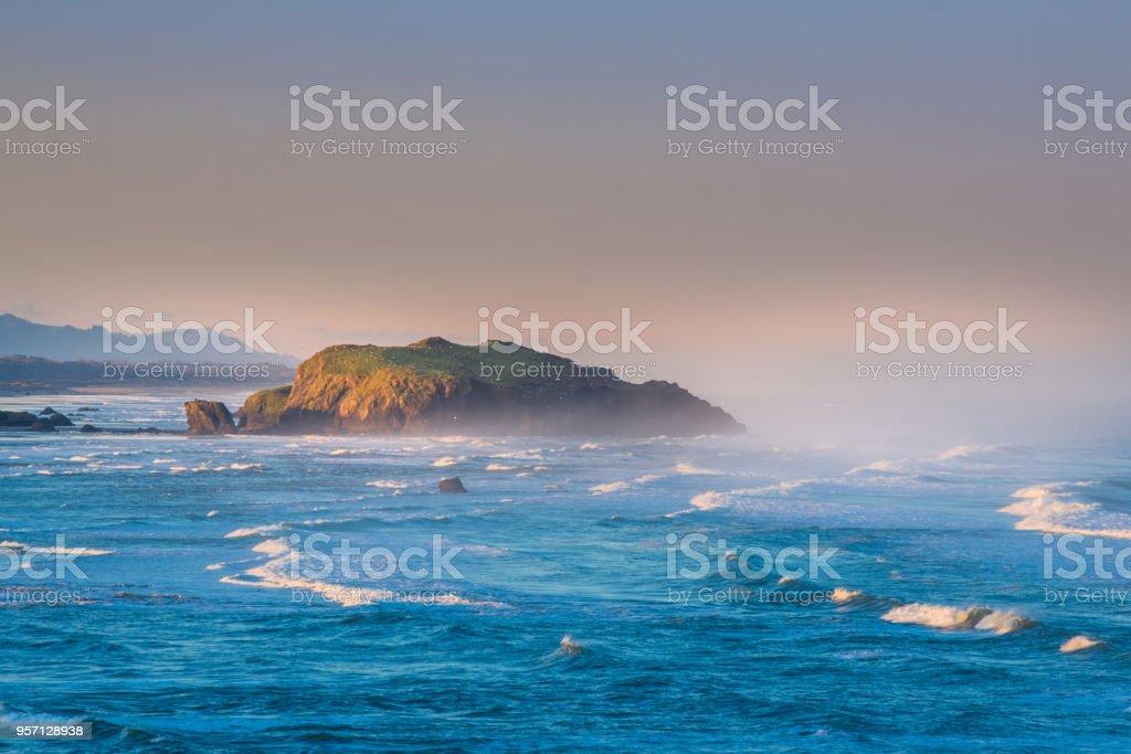 Bandon Oregon Coast stock photo