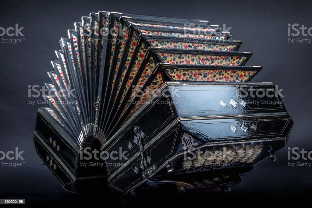 bandoneón - foto de stock