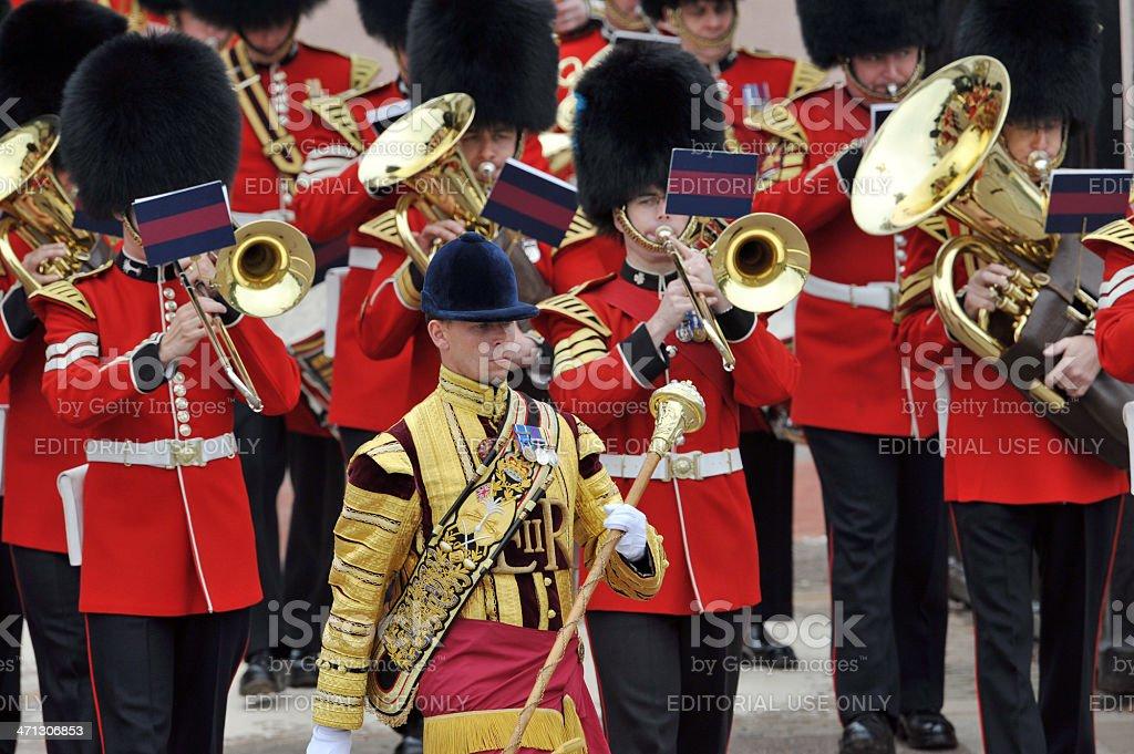 Bandsmen royalty-free stock photo