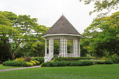 Bandstand in Singapore Botanic Gardens