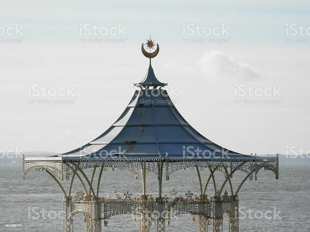 Bandstand Southsea Detail stock photo