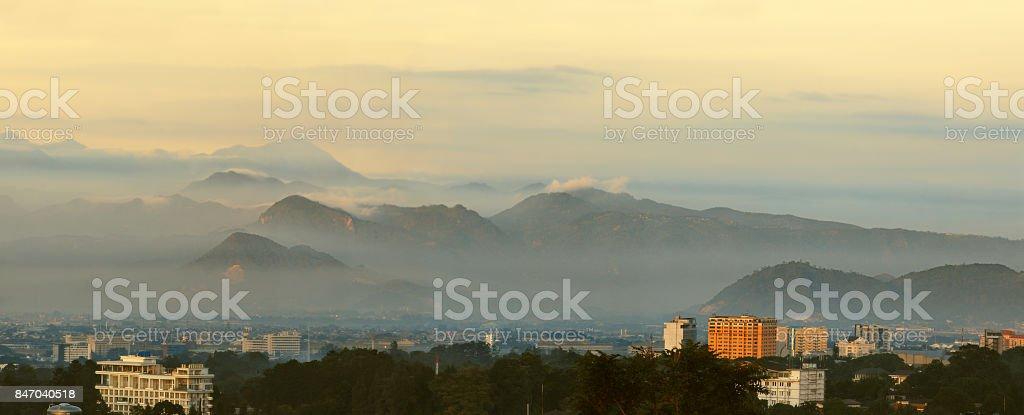 Bandung Cityscape stock photo
