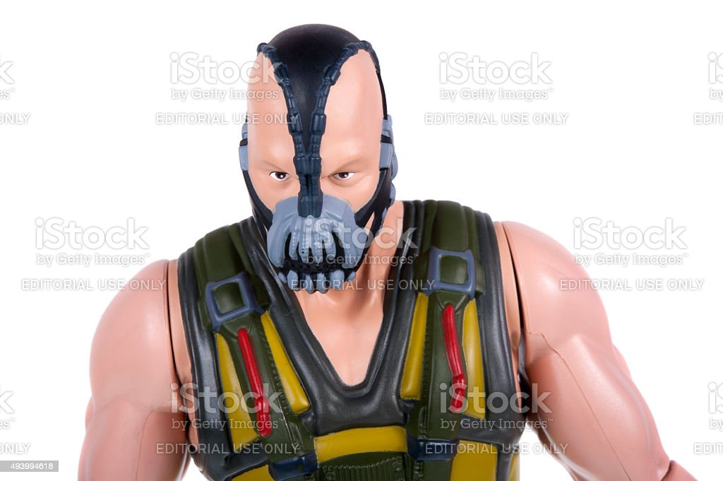 Bane Action Figure stock photo