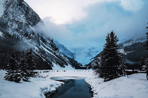 banff national park - banff national park stock photos and pictures