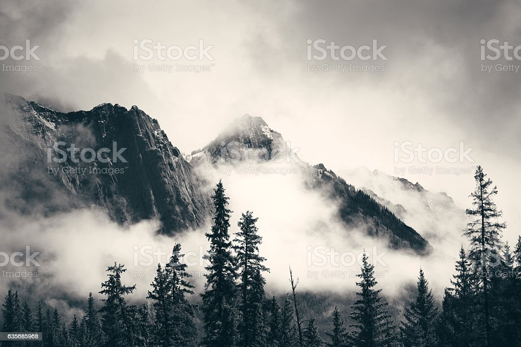 Banff National Park stock photo
