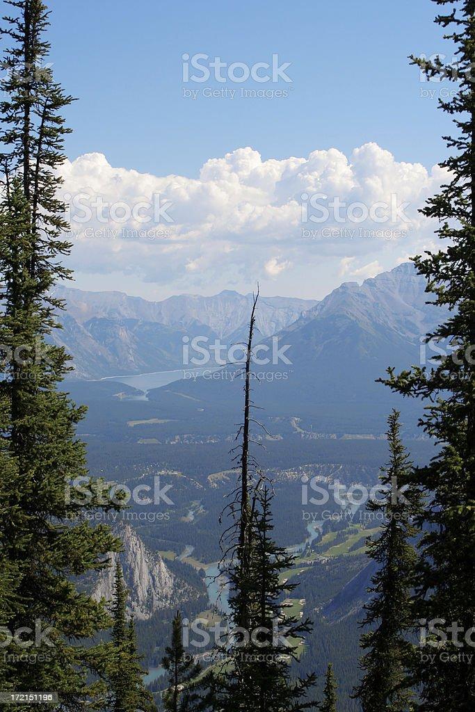Banff stock photo