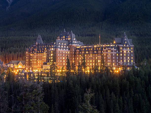Banff Springs Hotel - foto stock
