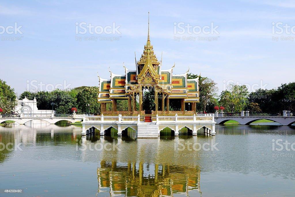 Bang Pa In Palace of Thailand stock photo