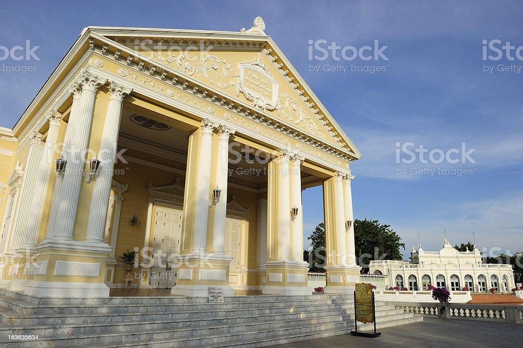 Bang Pa In Palace stock photo