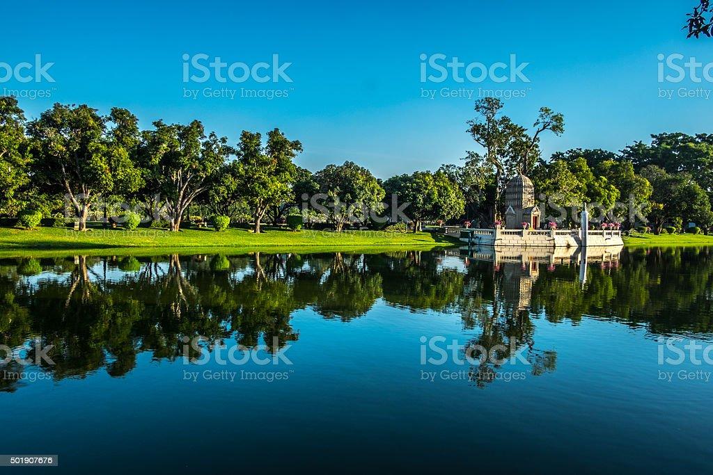 Bang Pa In Royal Palace stock photo