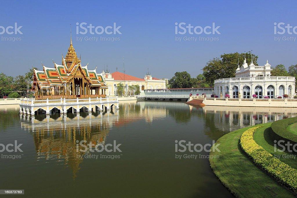 Bang Pa-In Palace stock photo