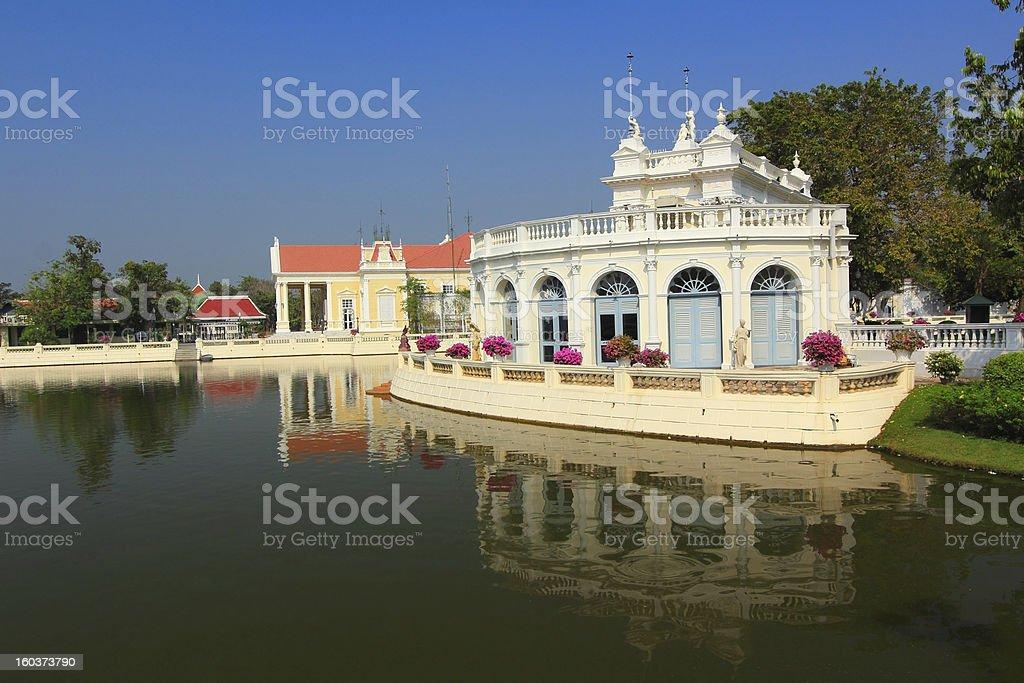 Bang Pa-In Palace royalty-free stock photo
