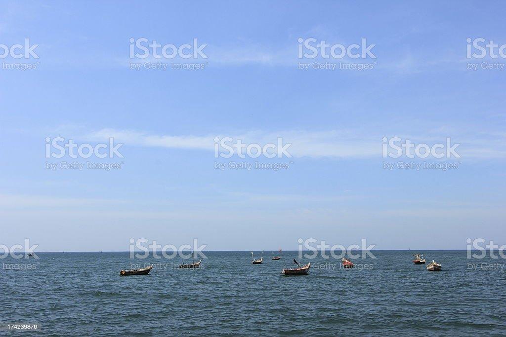 Bang Saen Beach stock photo
