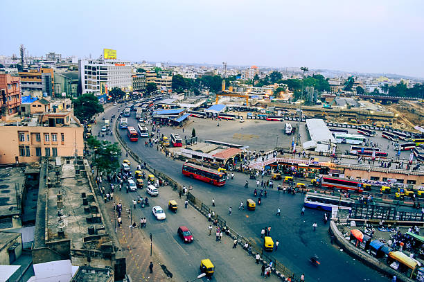 bangalore city scape wide view of Bangalore city bangalore stock pictures, royalty-free photos & images