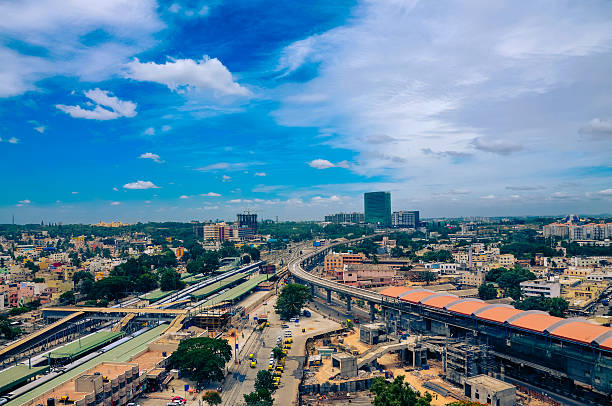 Bangalore city scape Bangalore city scape bangalore stock pictures, royalty-free photos & images