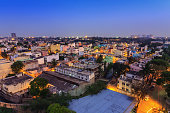 istock Bangalore City skyline, India 470628060