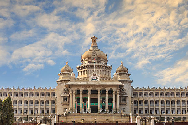 Bangalore, India Vidhana Soudha the state legislature building in Bangalore, India bangalore stock pictures, royalty-free photos & images
