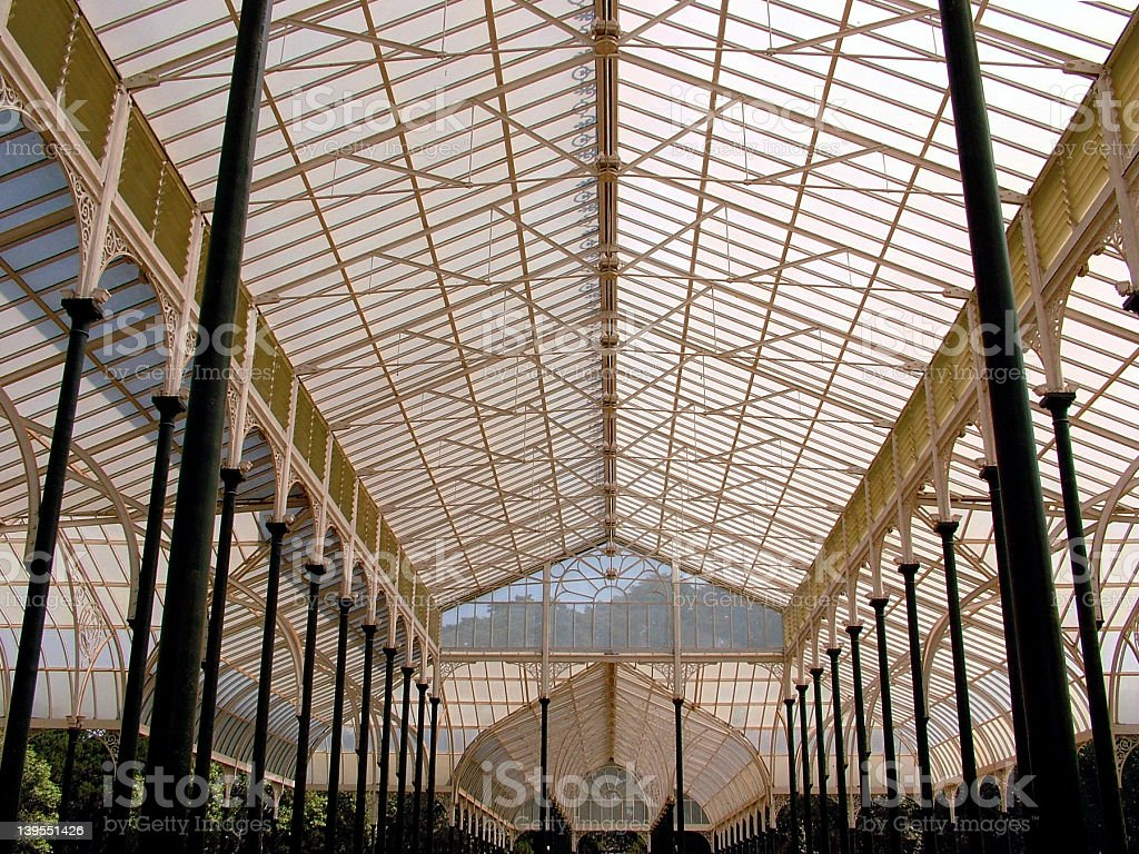 Bangalore, Lalbagh, Glass House royalty-free stock photo