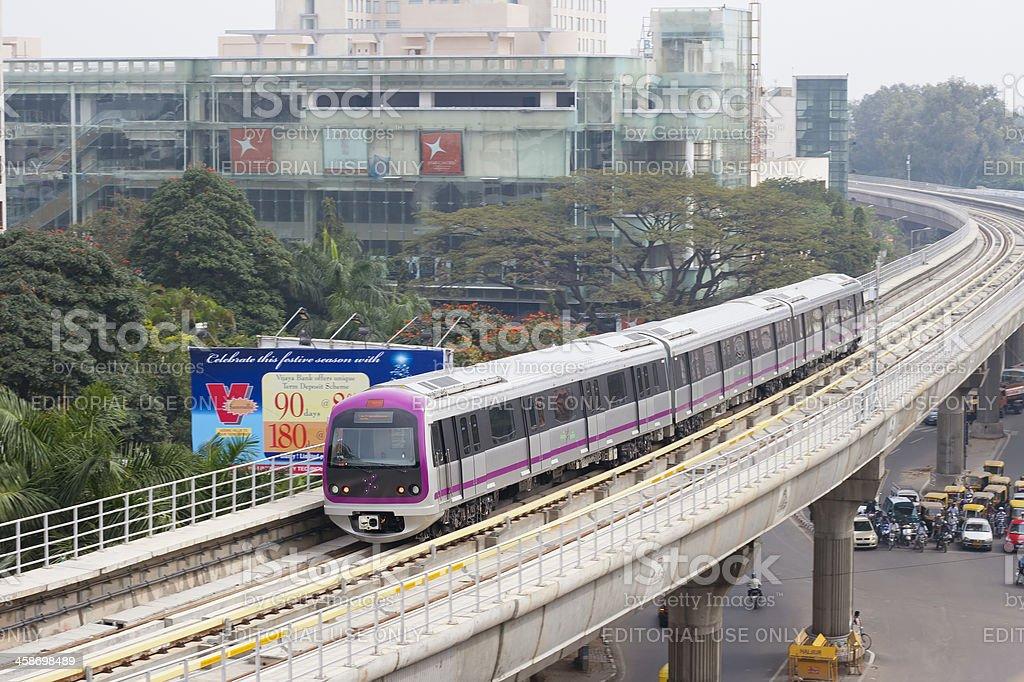 Bangalore Metro, India stock photo