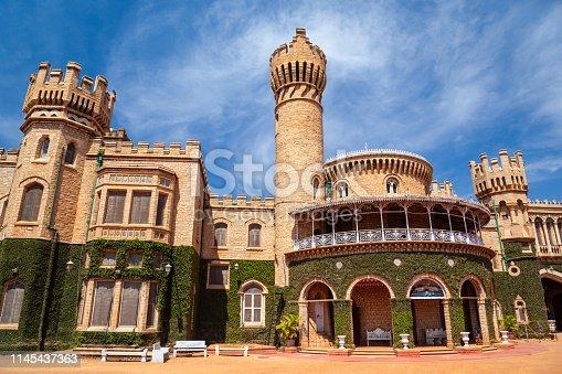 Bangalore Palace is a british style palace located in Bangalore city in Karnataka, India