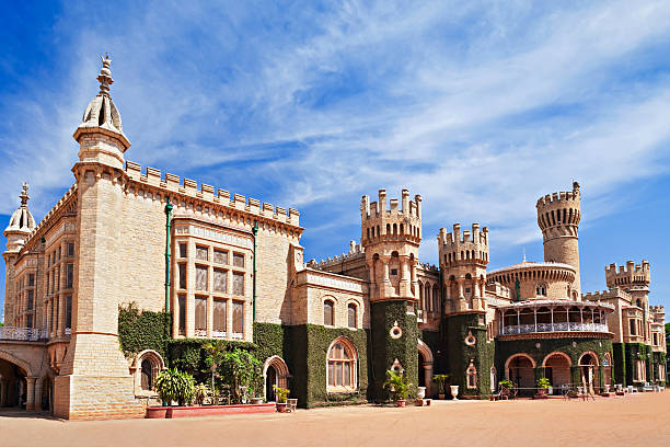 Bangalore Palace, India Bangalore Palace, Bangalore, Karnataka state, India bangalore stock pictures, royalty-free photos & images