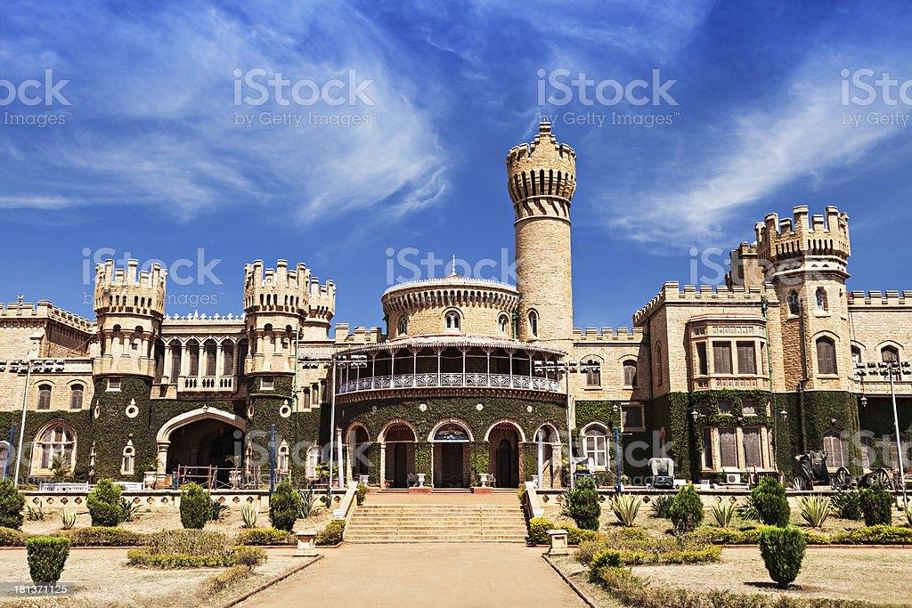 Bangalore palace stock photo