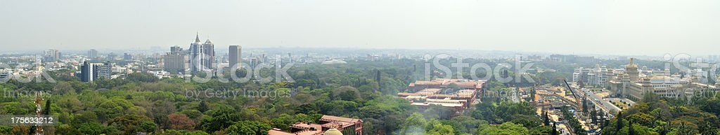 bangalore panoram shot royalty-free stock photo