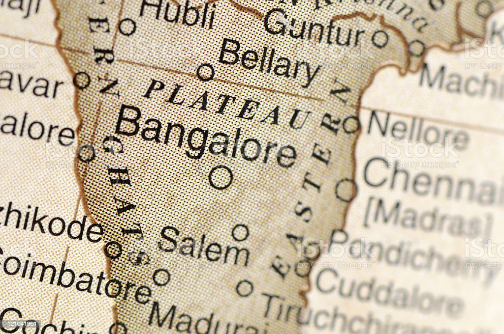 Bangalore royalty-free stock photo