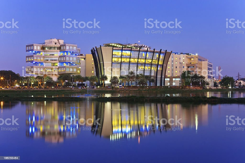 Bangalore Skyline, India royalty-free stock photo