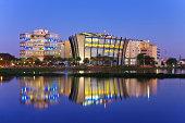 istock Bangalore Skyline, India 186255464