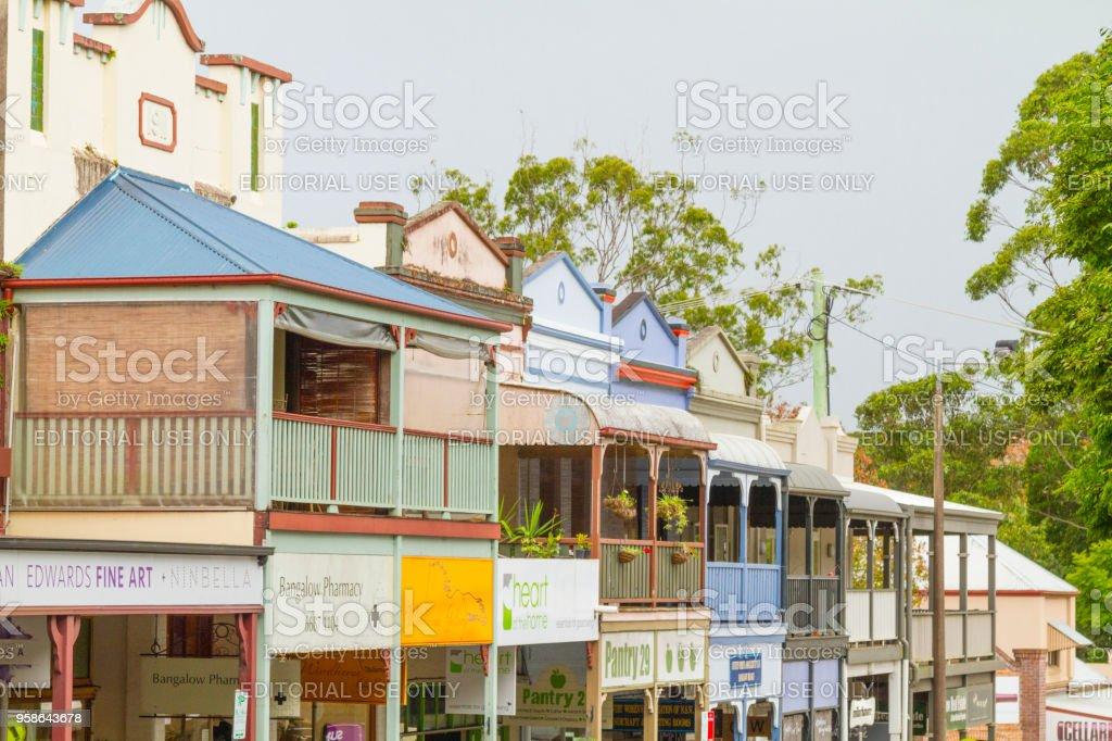 Bangalow, Australia stock photo