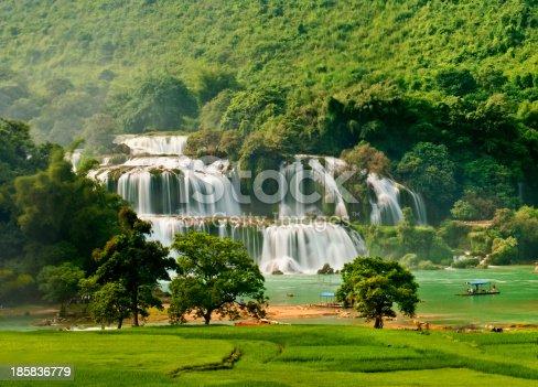 483422527istockphoto BanGioc waterfall in CaoBang, VietNam 185836779