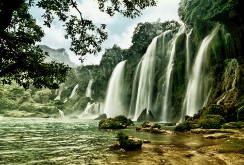 483422527 istock photo BanGioc waterfall in CaoBang, VietNam 185836780