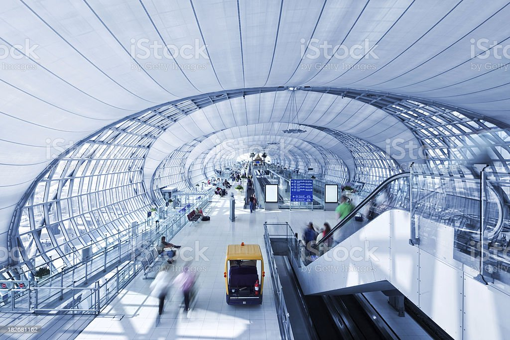 Bangkok Airport royalty-free stock photo