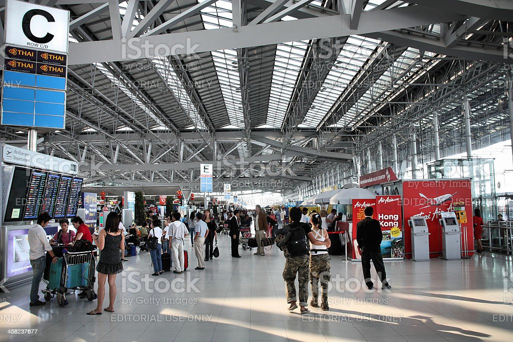 Bangkok airport royalty-free stock photo
