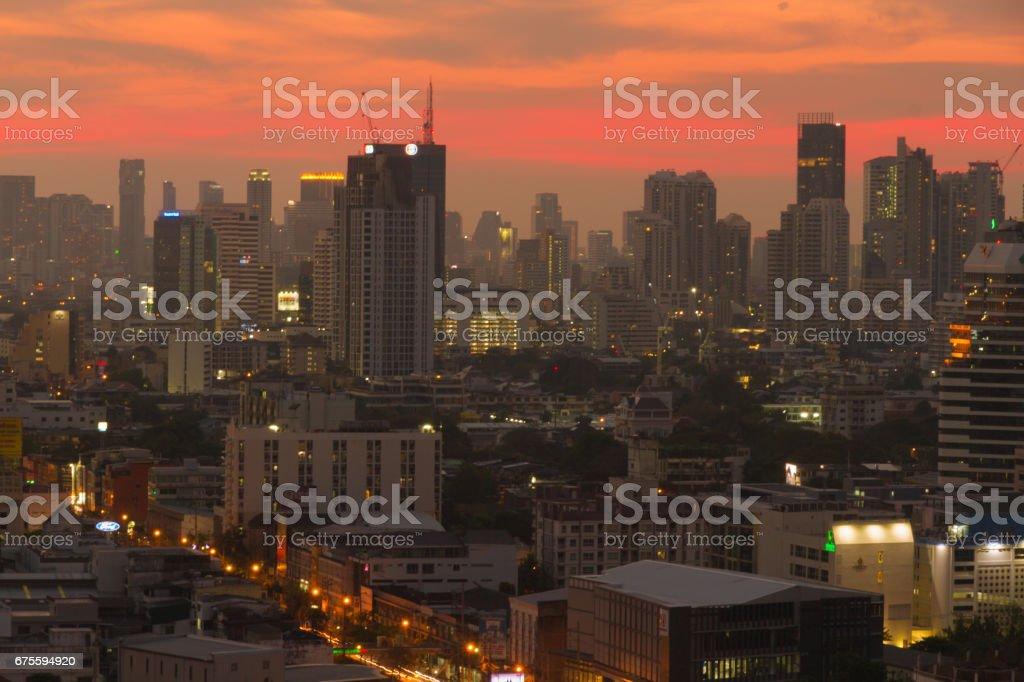 Bangkok Buildings photo libre de droits