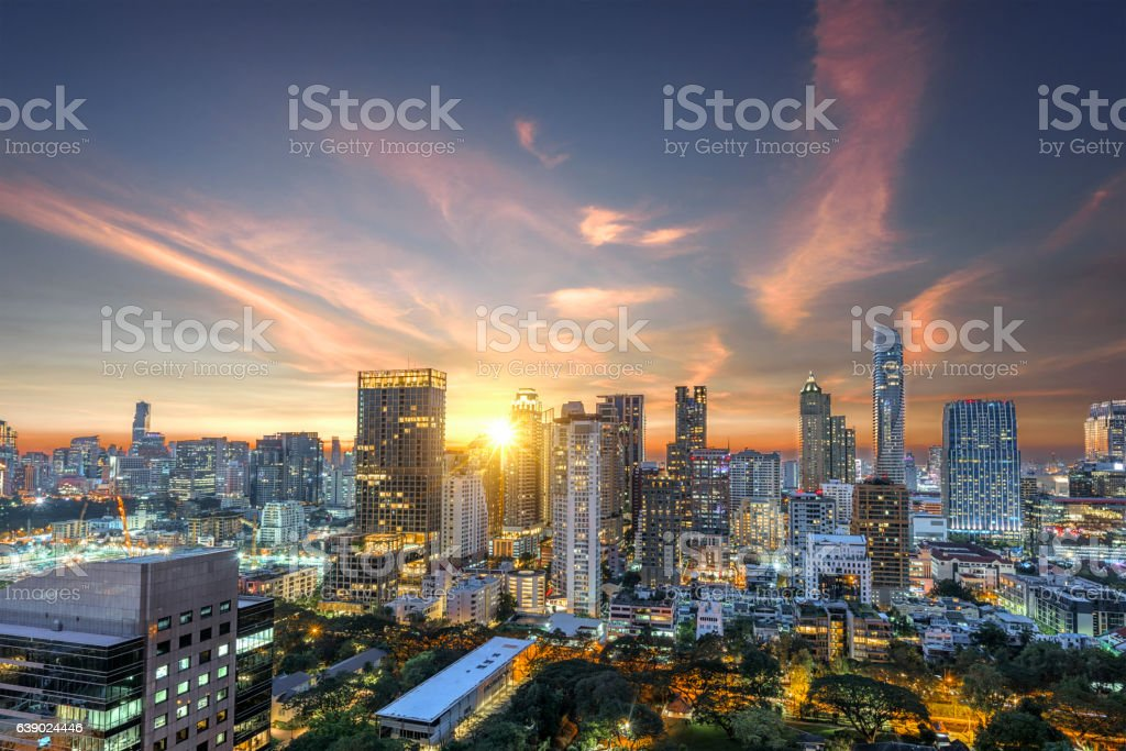 Bangkok capital city of Thailand stock photo