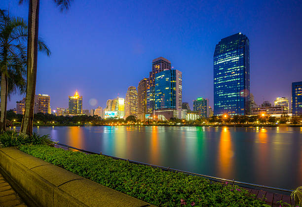 Bangkok City Downtown Thailand圖像檔