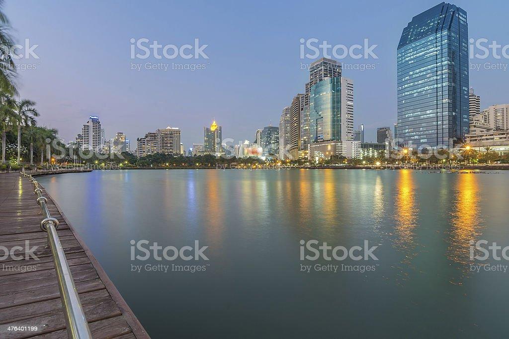 Bangkok city of angles royalty-free stock photo