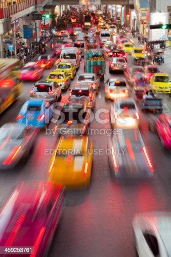 istock Bangkok City Traffic @ Night 459253761