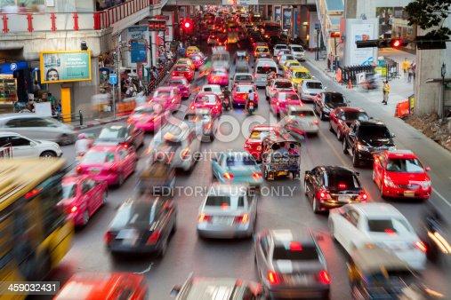 144334852 istock photo Bangkok City Traffic 459032431