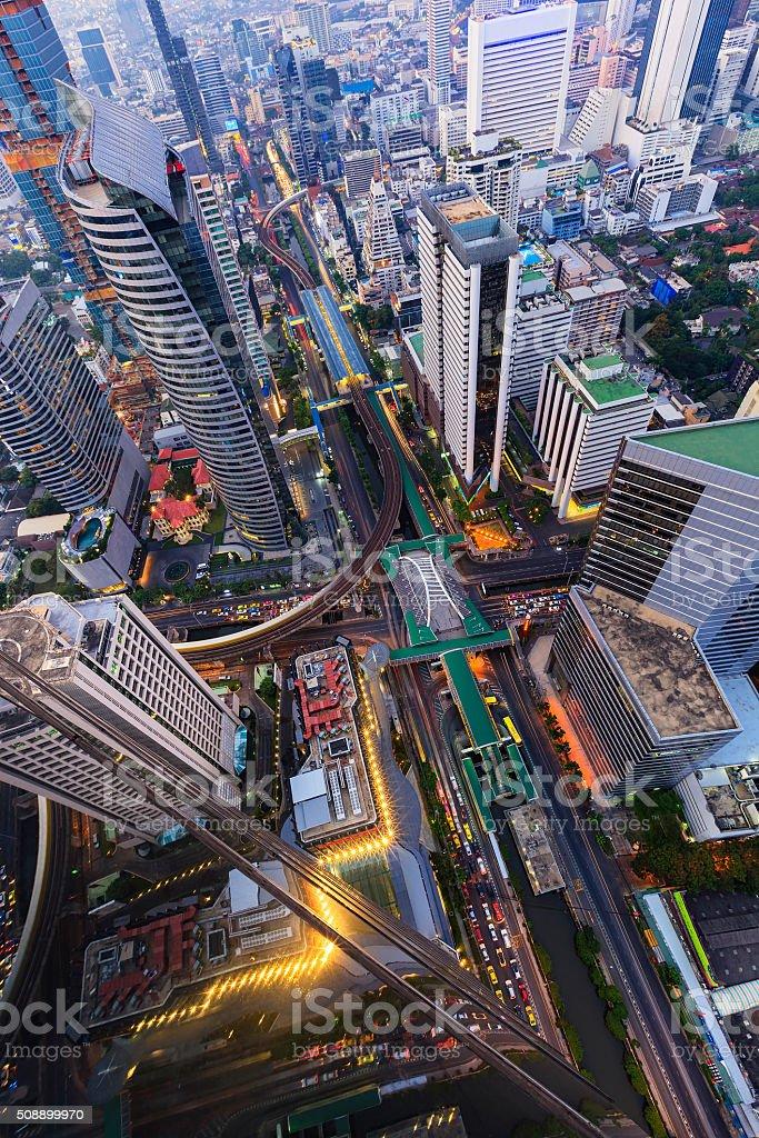 Bangkok cityscape圖像檔