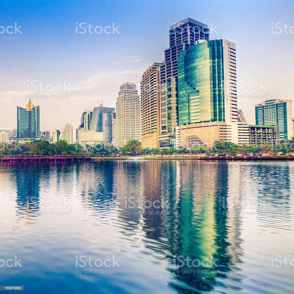 Bangkok Downtown royalty-free stock photo