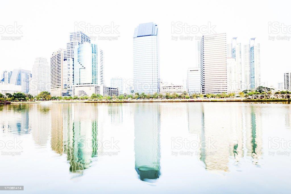 Bangkok Downtown royalty-free stock photo