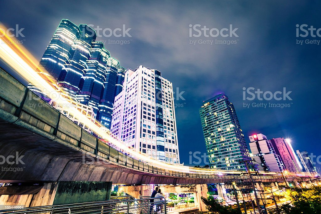 Bangkok Downtown, Thailand. royalty-free stock photo